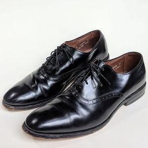 Allen Edmonds Danbury black leather Oxford shoes